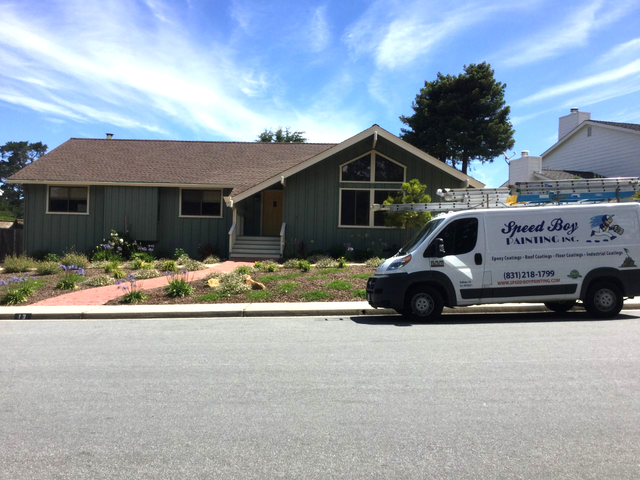 professional house painters monterey